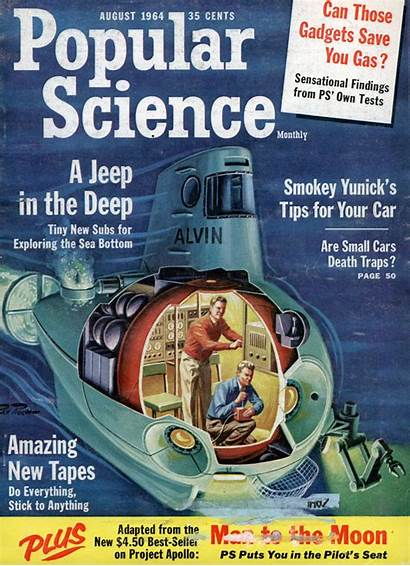Science Magazine 1964 Popular Covers Magazines Issue