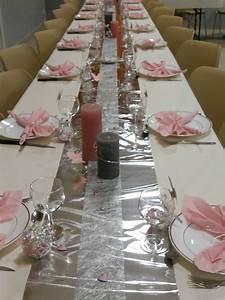 Deco Table Rose Et Gris : d coration bapt me th me papillon coccinelle gris et ~ Melissatoandfro.com Idées de Décoration