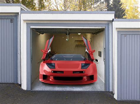 Mehrwertsteuer Garage by Garagendeko Motiv Sportwagen Bild Zum Kleben Dekoeffekt
