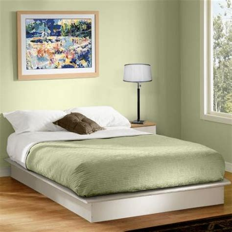 south shore basics platform bed buy south shore basics platform bed with molding