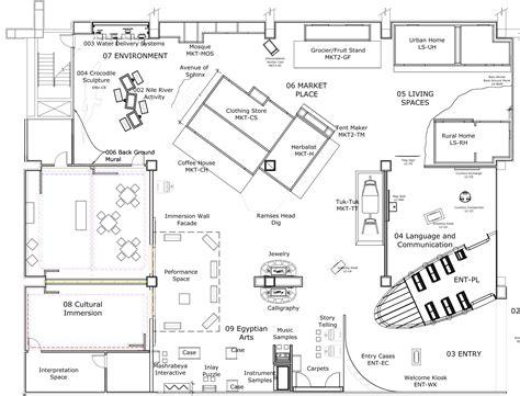 floor layout planner museum exhibition design museum planner