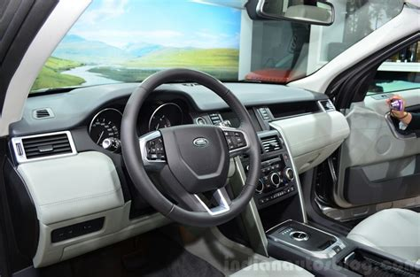 Land Rover Discovery Sport Interior At The 2014 Paris
