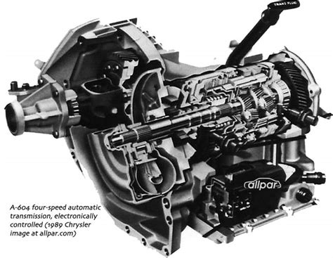 Four-speed Chrysler Automatic Transmissions