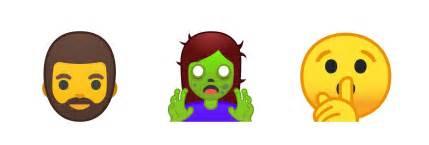 new android emojis android 8 0 emoji changelog