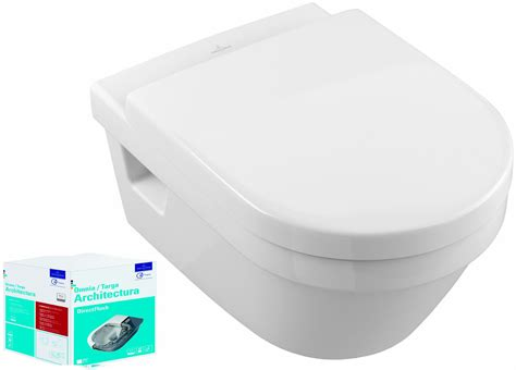 combi pack targa architectura direct flush villeroy et boch