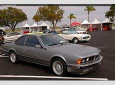 1988 BMW 635CSI History, Pictures, Value, Auction Sales
