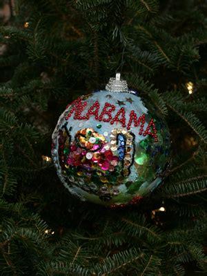 ornaments representing alabama