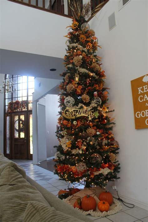 Best Way To Decorate A Tree - 17 best ideas about fall tree decorations on