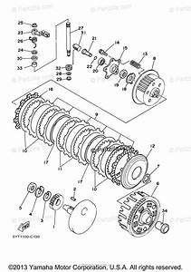 Yamaha Atv 2007 Oem Parts Diagram For Clutch