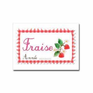 Mes étiquettes Gratuites à Imprimer : etiquettes confiture fraise a imprimer gratuitement ~ Nature-et-papiers.com Idées de Décoration