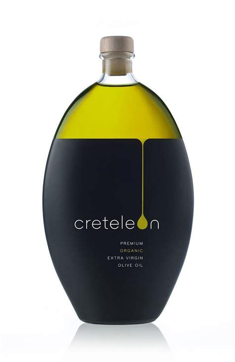 creteleon minimalist olive oil packaging