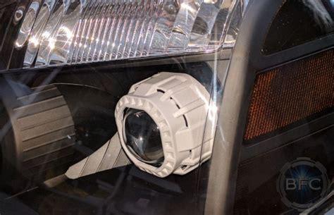 titan headlights nissan chrome hid projector retrofit blackflamecustoms