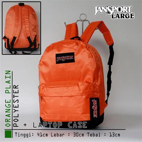 Ransel Jansport 7206 Polos jual get1043 tas ransel jansport besar parasut oranye