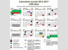 Calendarios Escolares Ciclo 2016 – 2017 SEP Educación