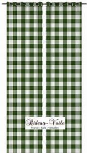 Rideaux Vert Sapin : rideaux carreaux carr s vichy rideaux et tissus ameublement ~ Teatrodelosmanantiales.com Idées de Décoration