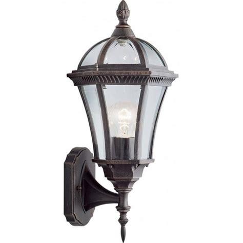 searchlight 1565 capri rustic brown outdoor wall light