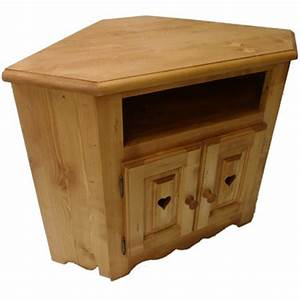 Meuble De Tv D Angle : meuble d angle tv 2 portes coeur 1 niche ~ Preciouscoupons.com Idées de Décoration