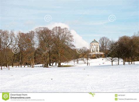 Englischer Garten Winter by Englischer Garten Winter Stock Images 65 Photos