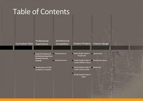 11439 architecture portfolio table of contents selected architectural portfolio 2011 on behance