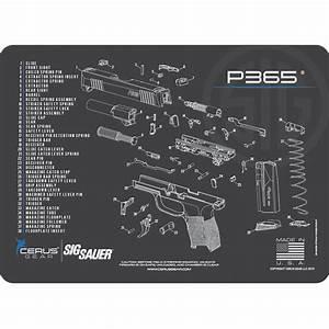 Sig Sauer U00ae P365 Schematic Promat  Licensed  U0026 Endorsed By