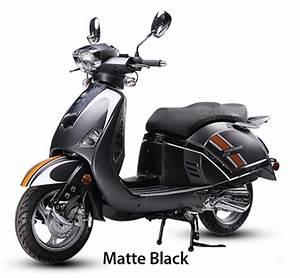 Bms Retro 150cc Moped Scooter Premier 150 W   Dual Disc