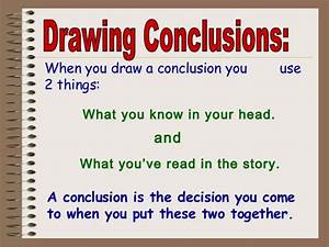 Drawing Conclusions - Lessons - Tes Teach