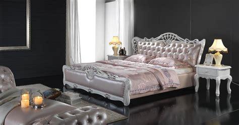 chambre princesse adulte lit mou de cuir véritable de princesse luxury 6069 lit