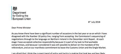 read  full david daviss resignation letter