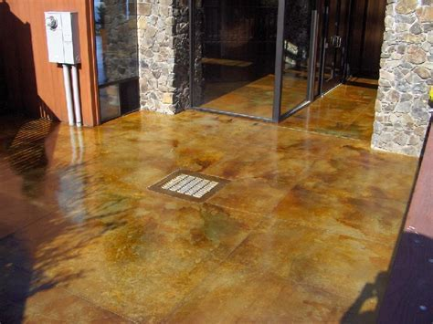 Patina Stained, Decorative Concrete, San Luis Obispo, CA