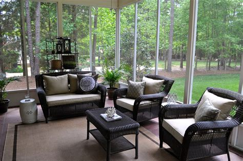 Porch And Patio Furniture by Dazzling Sams Patio Furniture In Screened Porch From Patio
