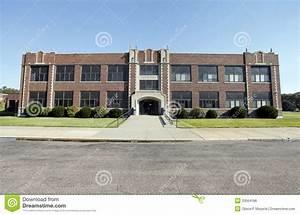 Generic High School Building Royalty Free Stock Image ...
