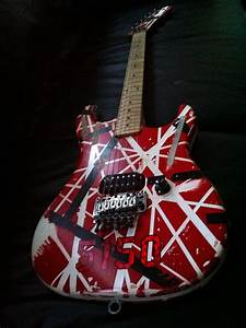 My Eddie Van Halen Kramer 5150 Guitar