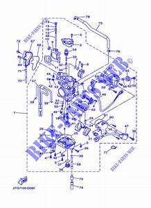 30 Yamaha Yfz 450 Carburetor Diagram