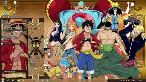 Tema One Piece Para Windwos 8 Y 8 1