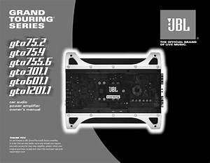 Jbl Gto 75 4  Serv Man11  User Guide    Operation Manual