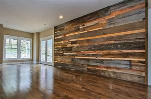 6 ways to use reclaimed wood in your home marcelle guilbeau With barnwood feature wall