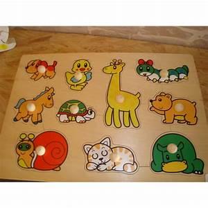 Puzzle En Bois Bébé : puzzle b b en bois avec des animaux ~ Dode.kayakingforconservation.com Idées de Décoration