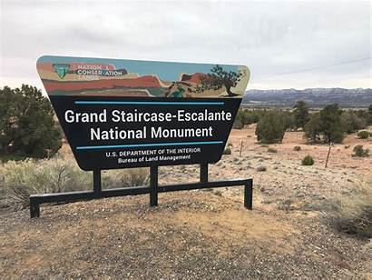 Escalante Staircase Grand Monument National Saarland Surprised