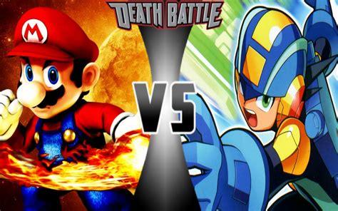Mario Vs Mega Man Exe Death Battle Fanon Wiki Fandom