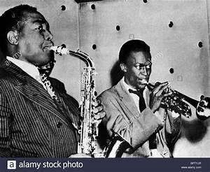 CHARLIE PARKER & MILES DAVIS JAZZ MUSICIANS (1945 Stock ...