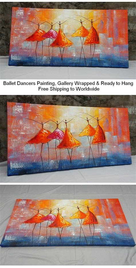 60083 All Modern Coupon 15 by Ballet Dancers Painting For Wall Decor Heavy Texture