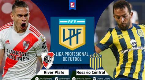 River vs Rosario Central EN VIVO TNT Sports Hora Canal TV ...