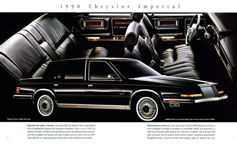 how does cars work 1992 chrysler imperial parking system the 1990 auto brochure power quiz the daily drive consumer guide 174 the daily drive consumer