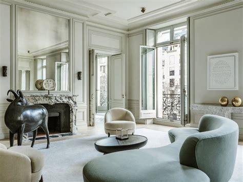 refined  contemporary home  paris  joseph dirand