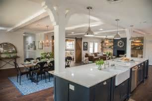 Kitchen Island Corbels Open Concept Kitchen Dining And Living Room Palette Pro
