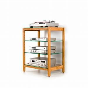 Cd Rack Holz : hifi m bel aus massivholz f r plattenspieler stereoanlagen ~ Markanthonyermac.com Haus und Dekorationen