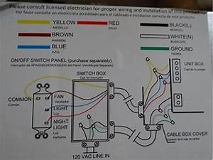 Ceiling Fan Light Switch Wiring