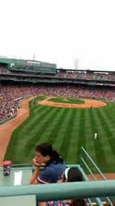 fenway park section bud light roof deck row 2 seat 1