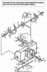 Honda Sb800 A Lawn Tractor  Usa Parts Diagram For Auger