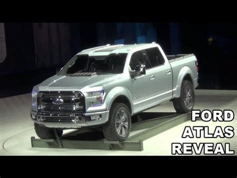ford unveils  ford atlas pickup truck youtube